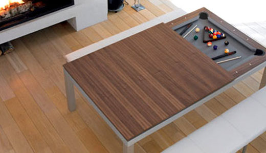 Pool Table Kitchen Table
