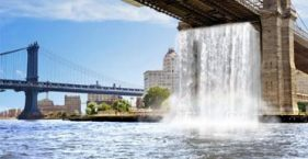 olafur eliasson - NYC waterfall