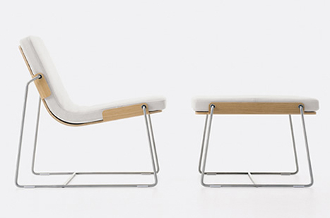 The Pancras Lounge By Borgersen U0026 Voll Offers A Slim Alternative. This Chair  Won The International Design Award In ...