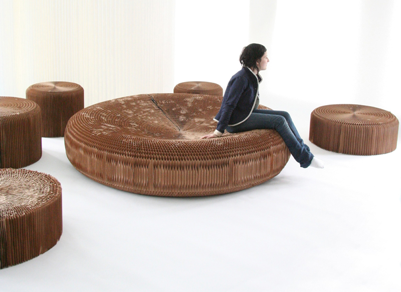 Paper furniture momeld modern living modern design - Paper furniture ...