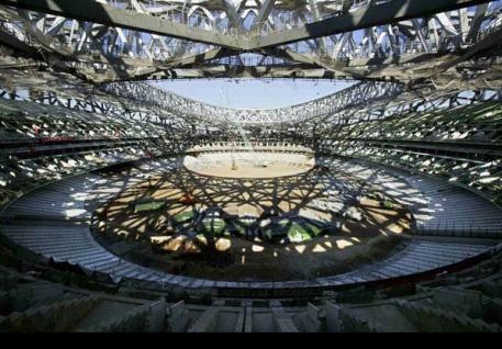 Beijing Olympic Stadium incomplete