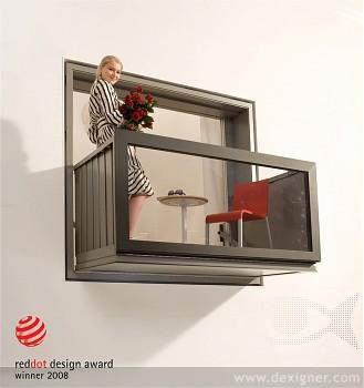 balcony | momeld - modern living | modern design